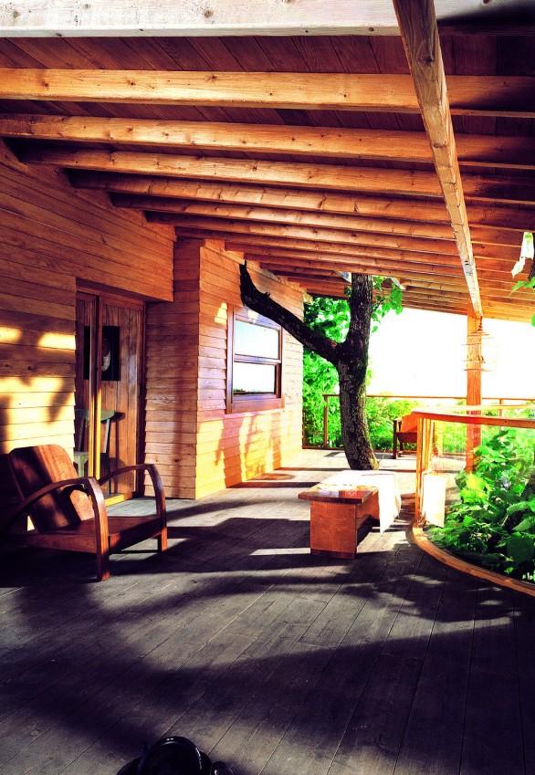La conception initiale de votre terrasse et le soin que vous aurez pris à penser les choses en amont sont aussi importants que la qualité des matériaux. - © V33