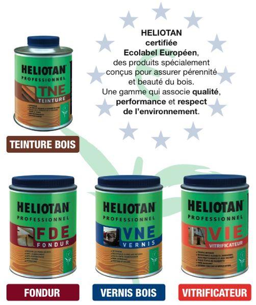 Traitement du bois Heliotan
