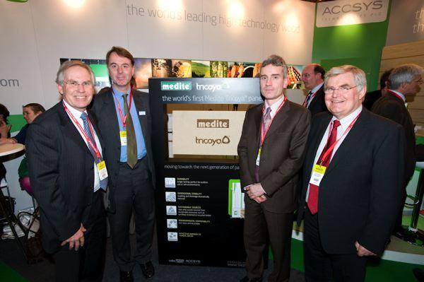 Accsys Technologies, Coillte Panel Products et le panneau Medite Tricoya