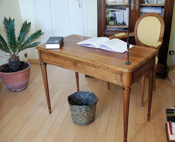 Toilettage dun bureau louis xvi u2013 latelier bois