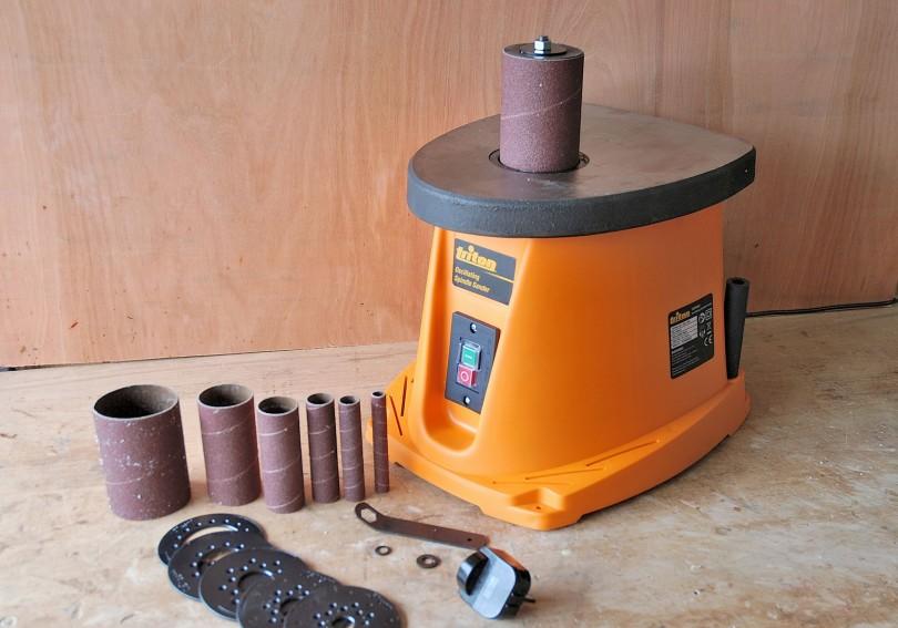 ponceuse cylindre oscillant triton tsps 450 l 39 atelier bois. Black Bedroom Furniture Sets. Home Design Ideas