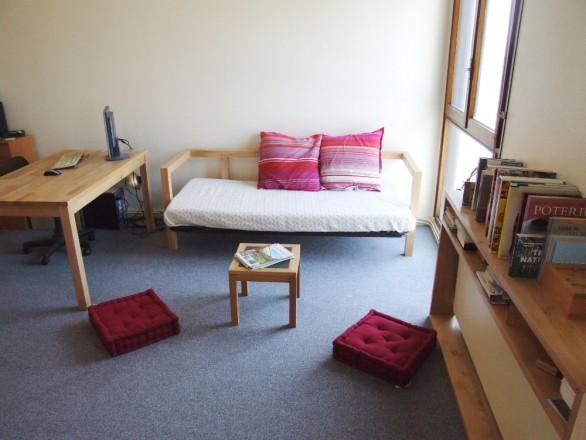 l am nagement d un studio l 39 atelier bois. Black Bedroom Furniture Sets. Home Design Ideas