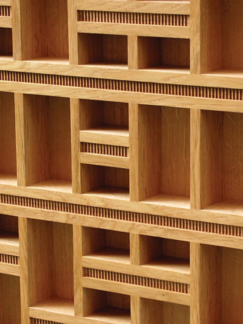Construire un meuble au design inspir par le corbusier for Construire un meuble
