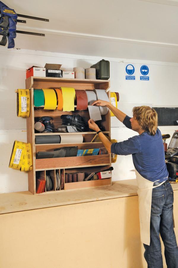 Abrasives cabinet-00