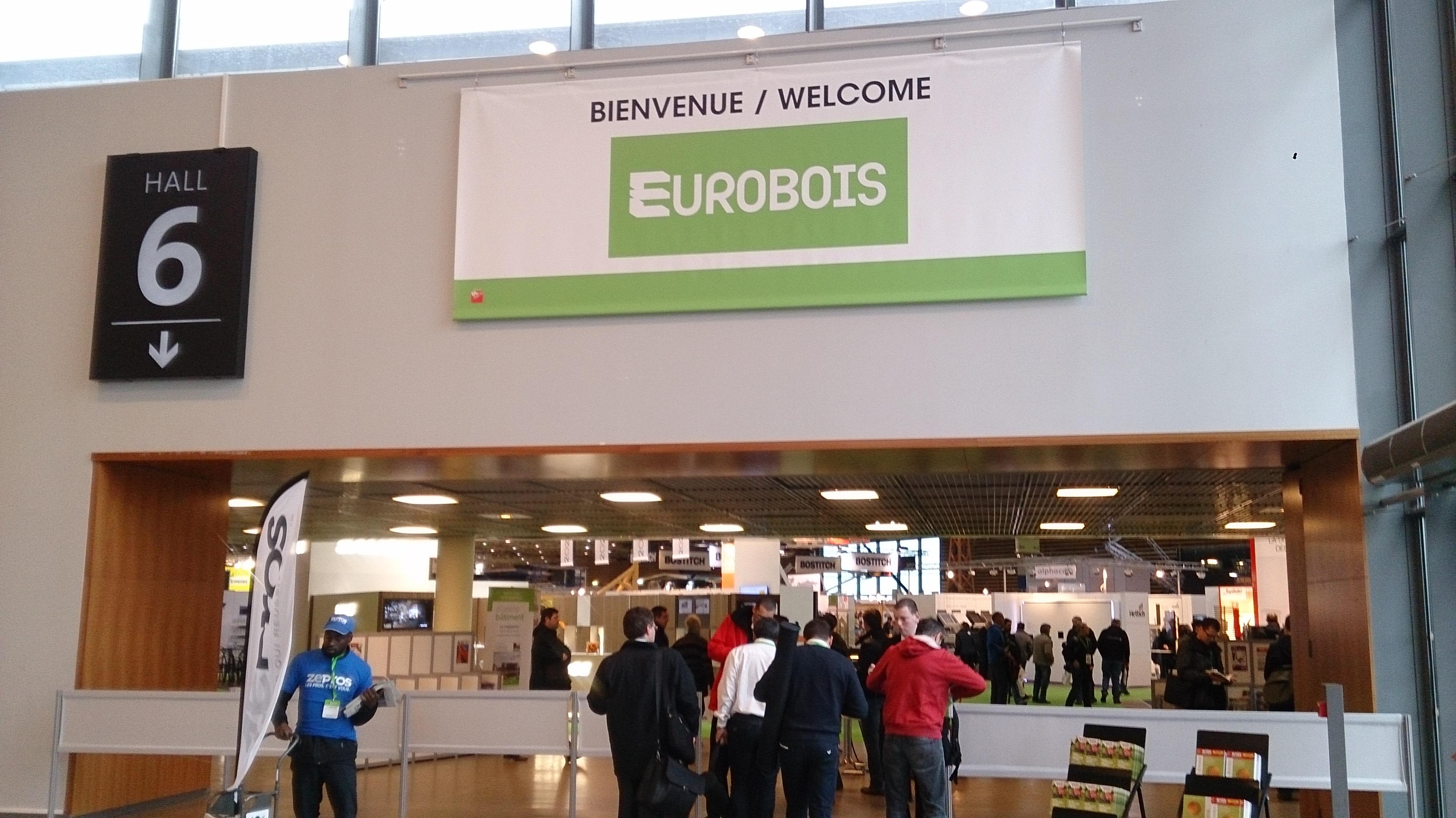 Eurobois du 4 au 7 mars 2015 lyon l 39 atelier bois for Salon du bois lyon