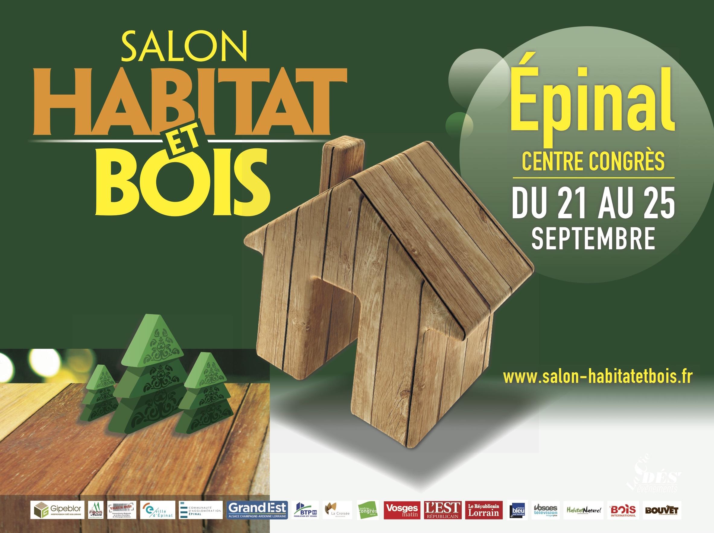 Salon habitat et bois du 21 au 25 septembre 2017 for Salon de l habitat 2017 paris
