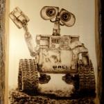 WALL-E, héros du dessin animé éponyme du studio Pixar. © btjpyro